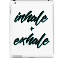 Inhale + Exhale iPad Case/Skin
