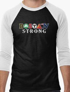 BOSTON Strong Men's Baseball ¾ T-Shirt