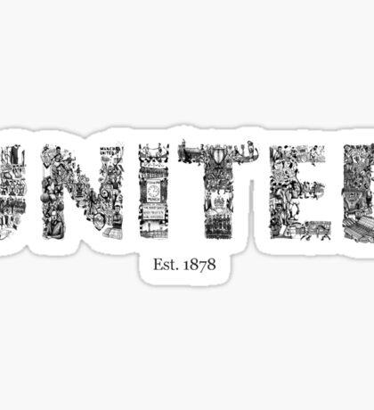 manchester united Sticker