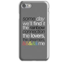 Rainbow Connection iPhone Case/Skin