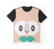 Rowlet Fantasy Graphic T-Shirt