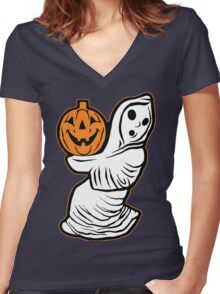 The Boo Crew Women's Fitted V-Neck T-Shirt