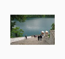 Steps Down To Lake Bled Unisex T-Shirt