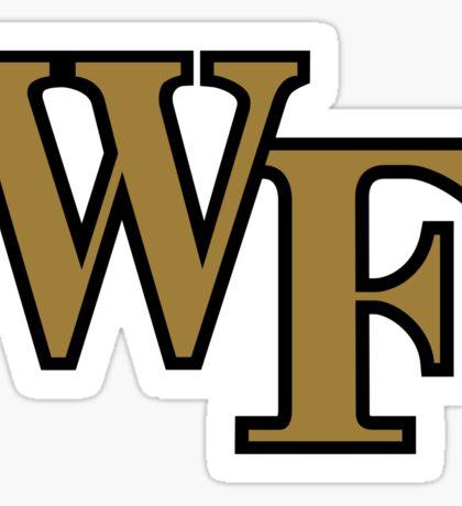 Wake Forest Sticker