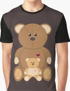 TWO TEDDY BEARS Graphic T-Shirt