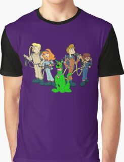 The Real Scooby Busters! Graphic T-Shirt