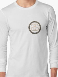 Stussy Logo Golden  Long Sleeve T-Shirt