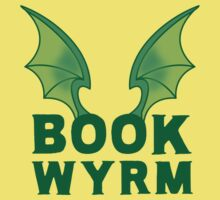BOOK WYRM (bookworm) Dragon wings One Piece - Short Sleeve
