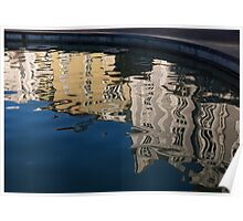 Reflected Architecture - Plovdiv, Bulgaria Poster