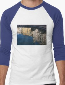 Reflected Architecture - Plovdiv, Bulgaria Men's Baseball ¾ T-Shirt