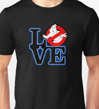 Love Park Ghostbusters Unisex T-Shirt