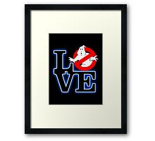 Love Park Ghostbusters Framed Print