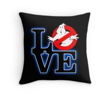Love Park Ghostbusters Throw Pillow