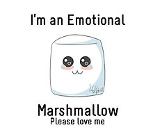 Emotional Marshmallow by BarbaraJHarris