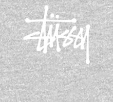 White Stussy Logo! high quality! Classic T-Shirt