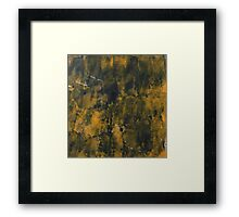 Punches Framed Print