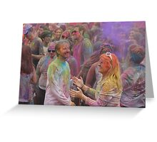 HOLI, Indian Festival of Colour, in San Diego County 2016  Greeting Card