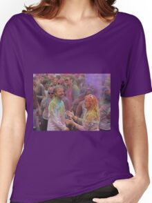 HOLI, Indian Festival of Colour, in San Diego County 2016  Women's Relaxed Fit T-Shirt