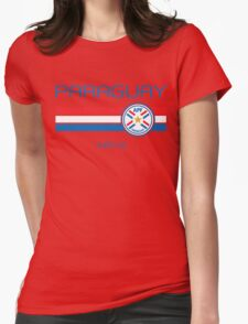 Copa America 2016 - Paraguay (Home Red) Womens Fitted T-Shirt