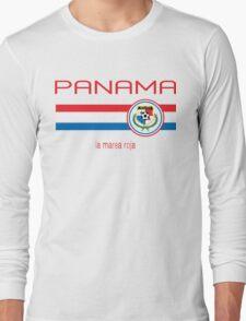 Copa America 2016 - Panama (Away White) Long Sleeve T-Shirt