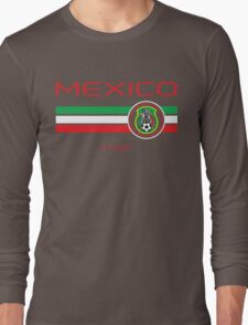 Copa America 2016 - Mexico (Home Green) Long Sleeve T-Shirt