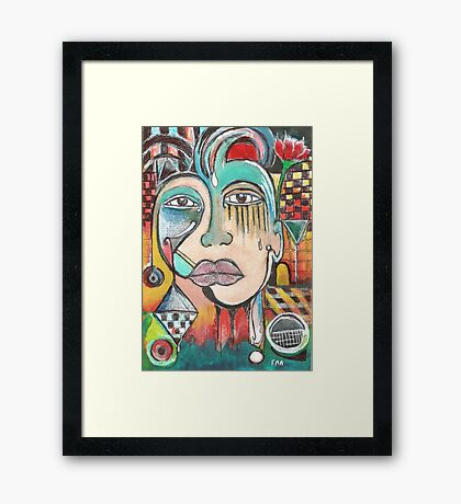 The Last Laugh II Framed Print