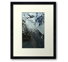 In the Hall of the Mountain King- Hochstetter from the Air  Framed Print