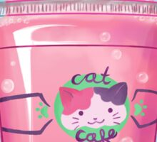Cat Cafe Sticker