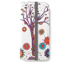 Purple Tree iPhone Wallet/Case/Skin