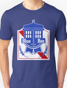 Policebox Blue Box Beer T-Shirt