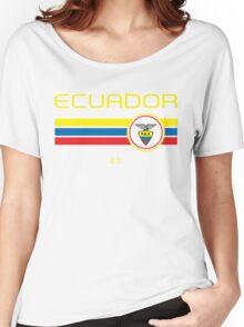 Copa America 2016 - Ecuador (Away Blue) Women's Relaxed Fit T-Shirt