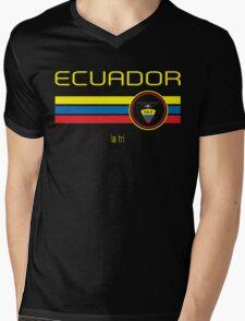 Copa America 2016 - Ecuador (Away Blue) Mens V-Neck T-Shirt