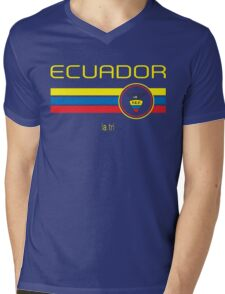 Copa America 2016 - Ecuador (Away Blue) Mens V-Neck T-Shirt