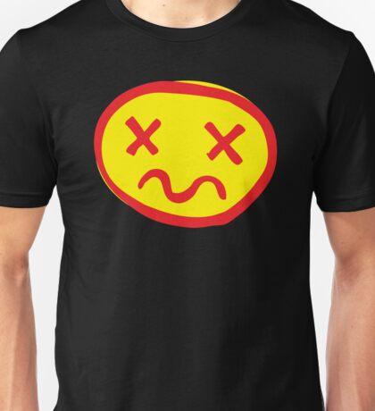 crazy unhappy Unisex T-Shirt