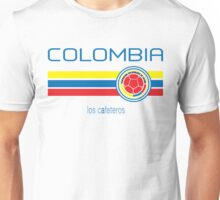 Copa America 2016 - Colombia (Home White) Unisex T-Shirt