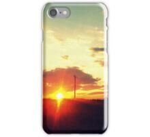 October Sunset iPhone Case/Skin