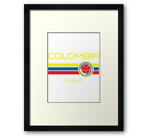 Copa America 2016 - Colombia (Away Dark Blue) Framed Print