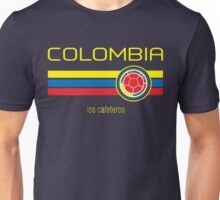 Copa America 2016 - Colombia (Away Dark Blue) Unisex T-Shirt