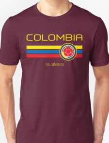 Copa America 2016 - Colombia (Away Dark Blue) Unisex T-Shirt