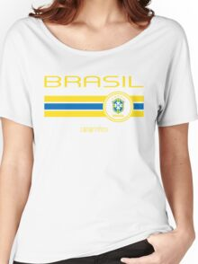 Copa America 2016 - Brasil (Away Blue) Women's Relaxed Fit T-Shirt