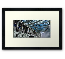 The farad of the Australian Parliament House Framed Print