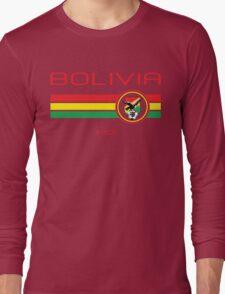 Copa America 2016 - Bolivia (Home Green) Long Sleeve T-Shirt