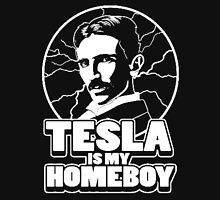 Tesla is my homeboy Women's Fitted Scoop T-Shirt