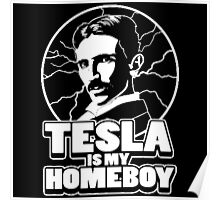 Tesla is my homeboy Poster