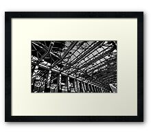 The farad of the Australian Parliament Framed Print