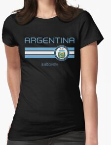 Copa America 2016 - Argentina (Home White) Womens Fitted T-Shirt