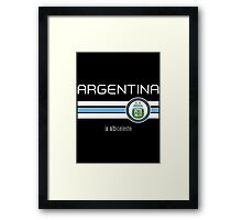 Copa America 2016 - Argentina (Away Blue) Framed Print