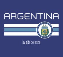 Copa America 2016 - Argentina (Away Blue) by madeofthoughts