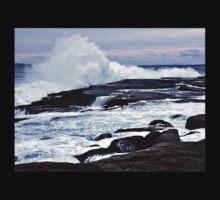 Ferocious Ocean -- Peggy's Cove, Nova Scotia Kids Tee