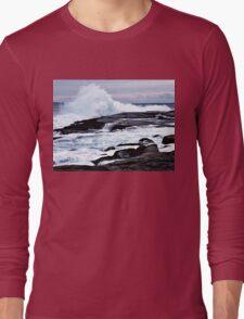 Ferocious Ocean -- Peggy's Cove, Nova Scotia Long Sleeve T-Shirt